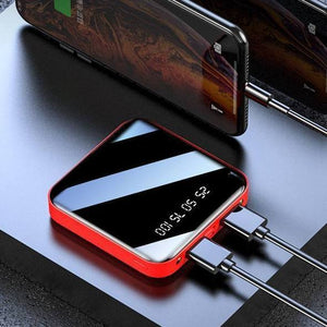 (50% Off Today Only!) 20000 mAh Large-Capacity Fashion Mini Power Bank - Buy 2 Free Shipping