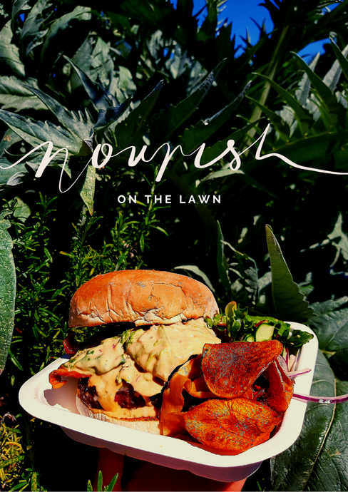 Nourish on The Lawn Streetfood Menu