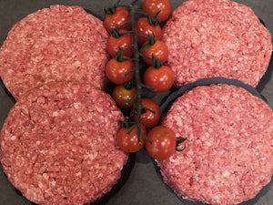 Family Pack - 6oz Beef Burgers
