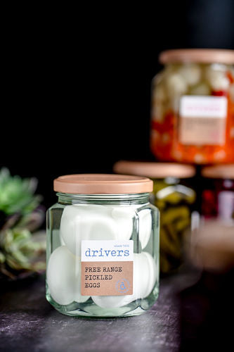 Drivers - Free Range Pickled Eggs