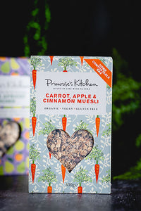 Primrose Kitchen - Carrot, Apple & Cinnamon Muesli