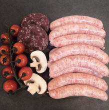 Load image into Gallery viewer, Traditional Thin Pork Sausages - 12 pack
