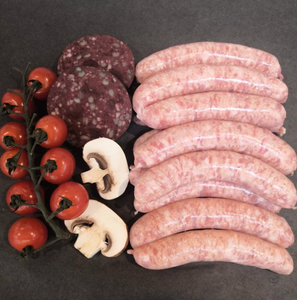 Traditional Thin Pork Sausages - 12 pack
