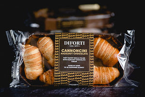Diforti Italian Pastry Puffs - Cannoncini Hazelnut Chocolate