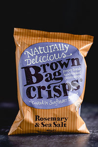 Brown Bag - Rosemary & Sea Salt Crisps