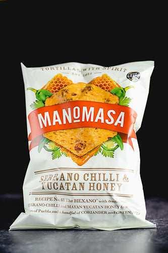 Manomasa - Serrano Chilli & Yucatan Honey 160g