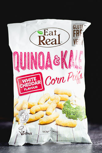 Eat Real Quinoa & Kale Puffs with Cheese