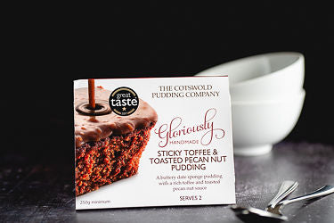 Cotswold Pudding Co - Sticky Toffee & Toasted Pecan 250g