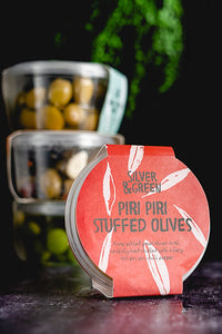 Silver & Green - Piri Piri Stuffed Olives