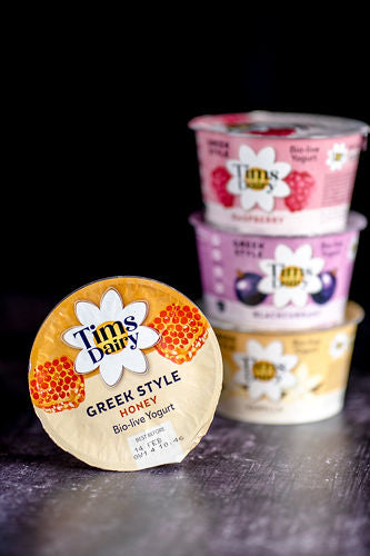Tim's Dairy Greek Style Yoghurt With Honey - 175g
