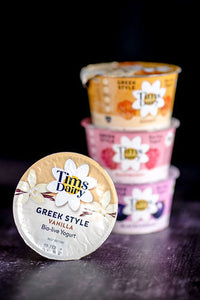 Tim's Dairy Greek Style Yoghurt With Vanilla - 175g