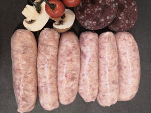 Traditional Thick Pork Sausages