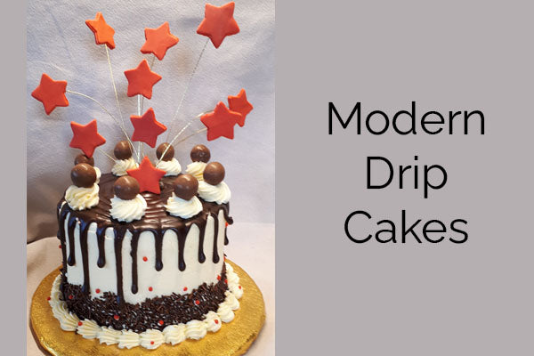 Modern Drip Cakes with Sally Davis - Wednesday 26th May – 10.30am – 1.30pm