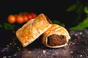 Homemade Vegetarian Sausage Roll