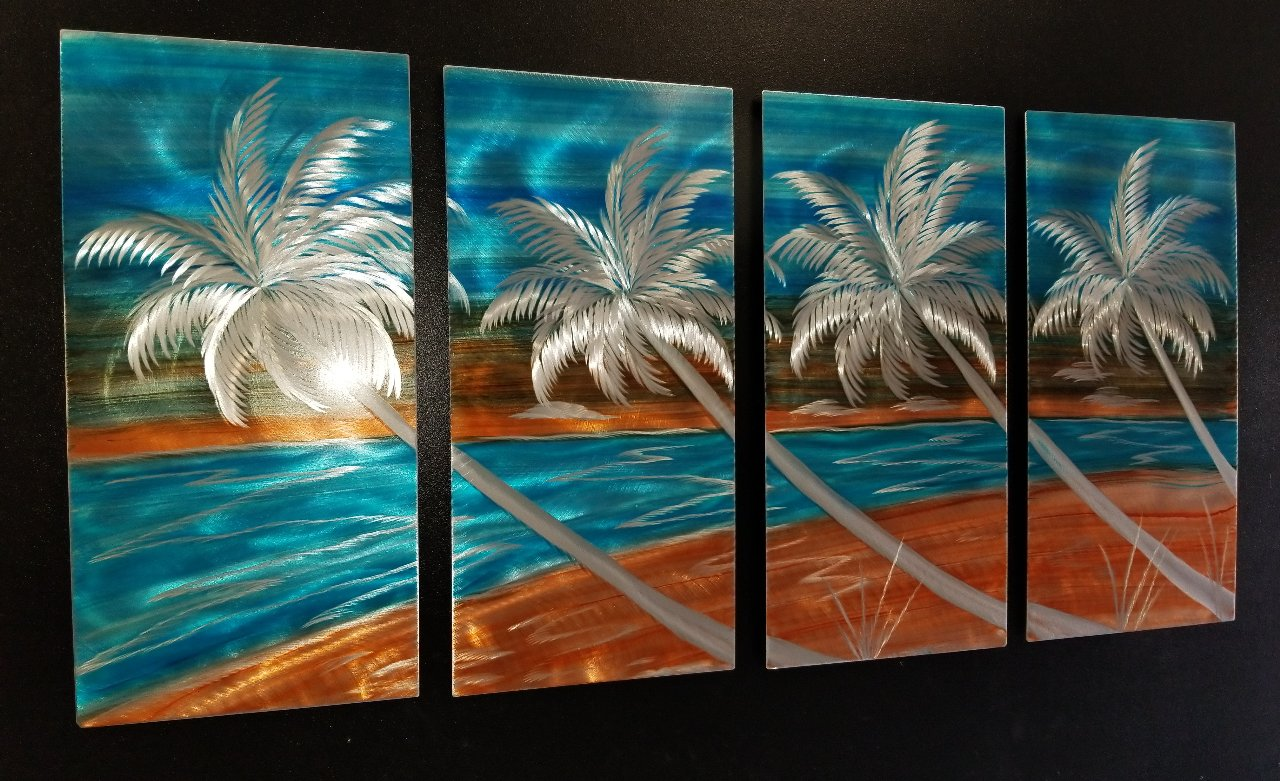 4 PANEL DESIGN BEACH VIBE MADE TO ORDER
