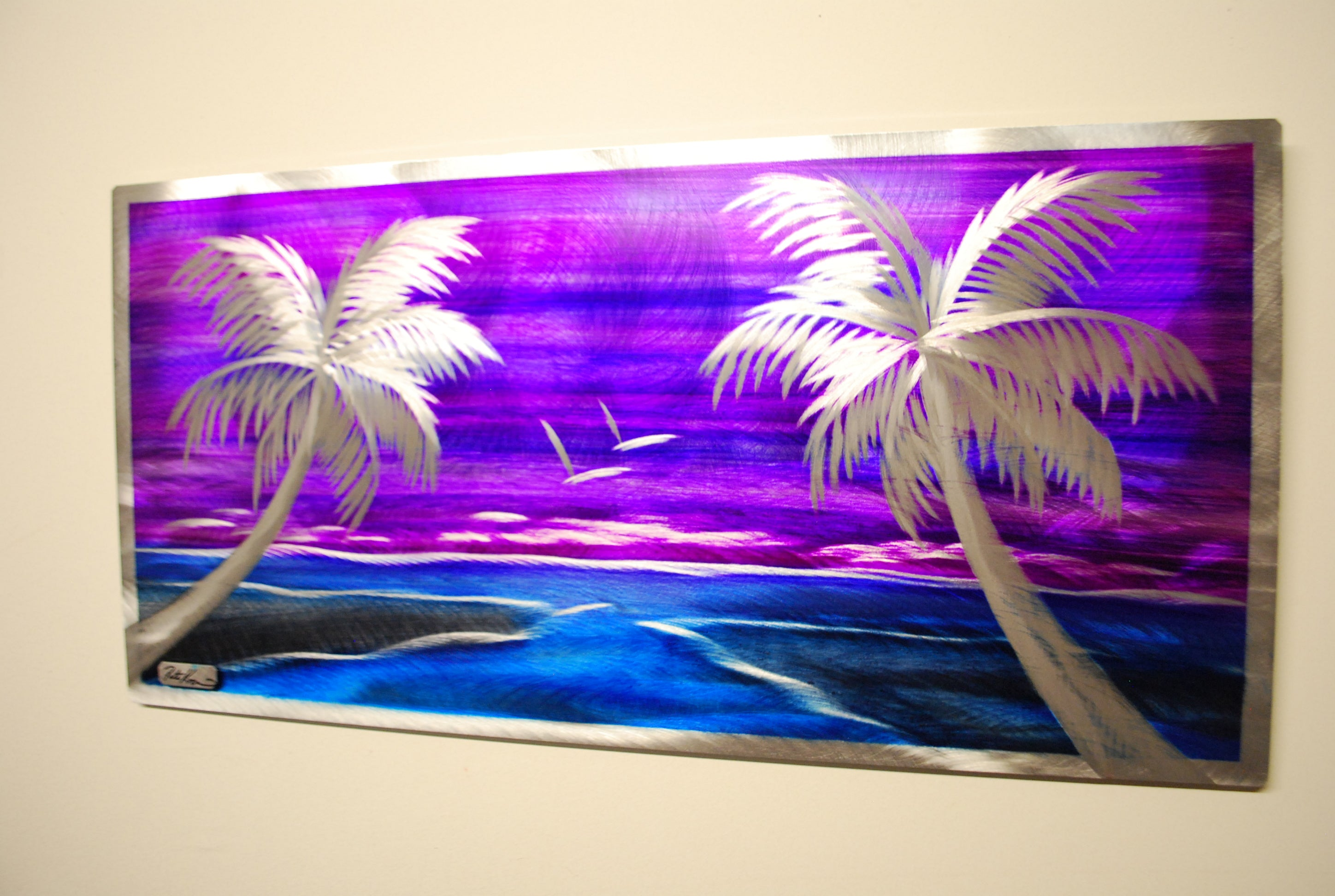 "Purple passion island 12""x24"""