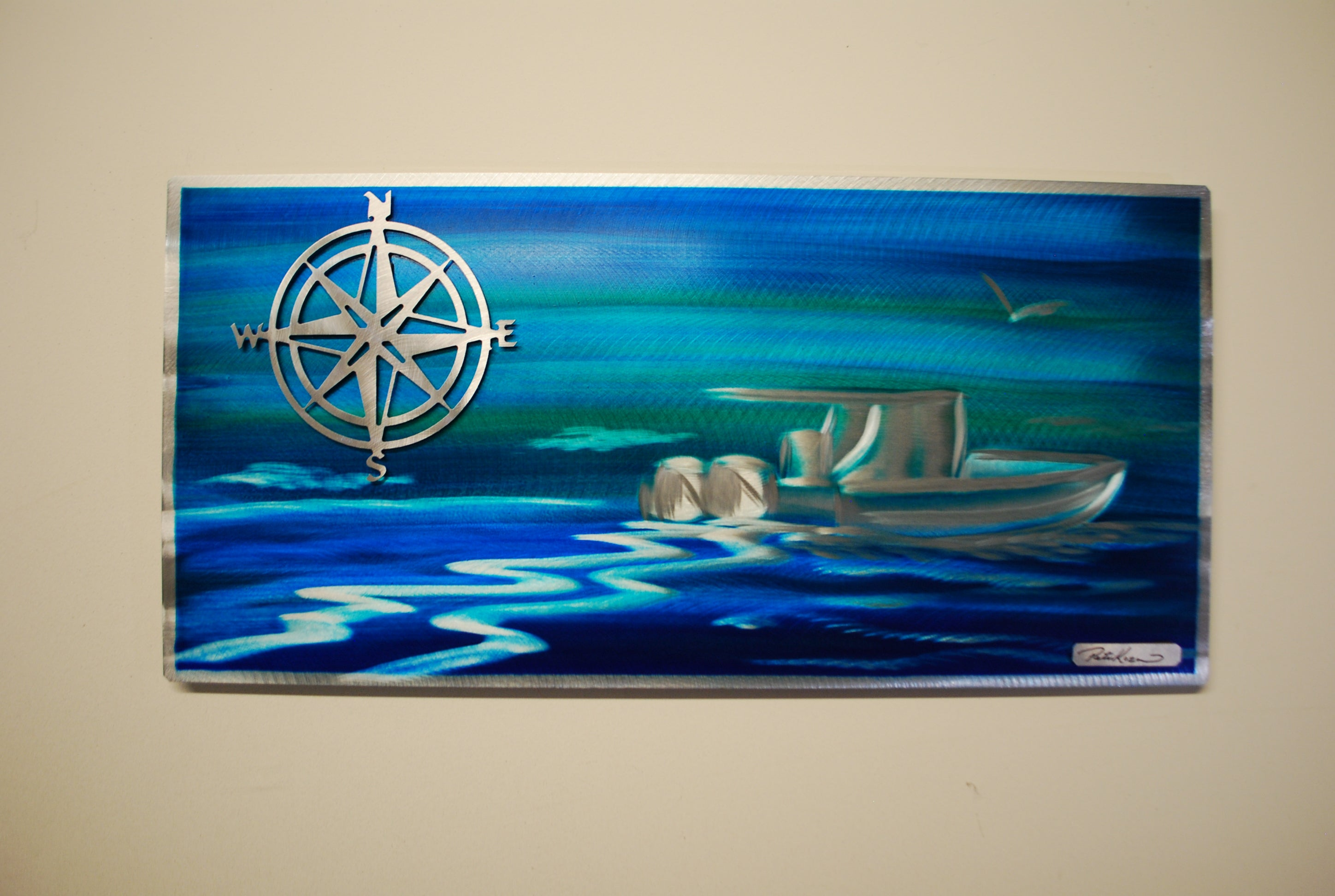 "Boaters dream 12"" x 24"""