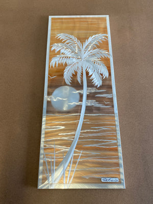 "Open image in slideshow, Palm Trees 15""x36"""