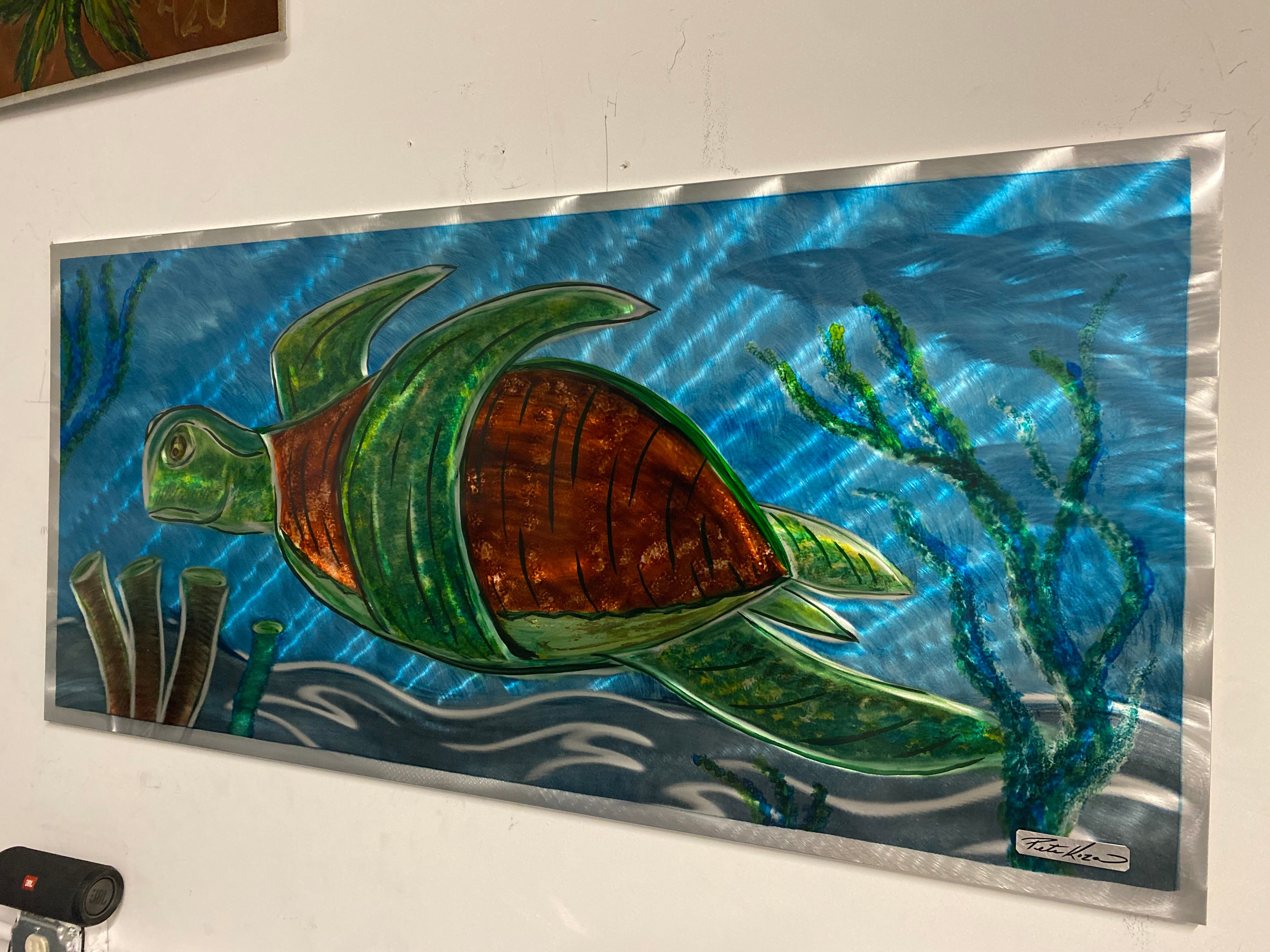 Sea Turtle 2' by 4'