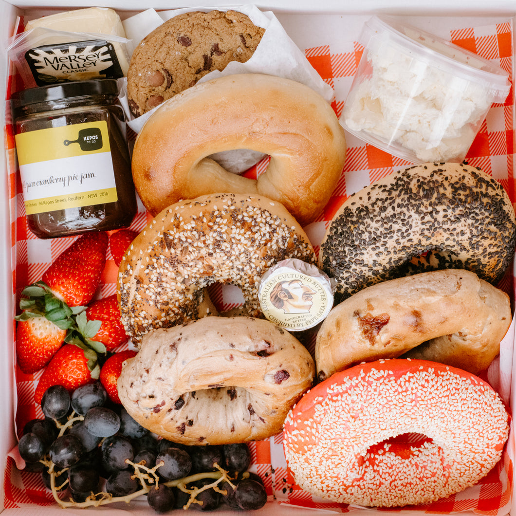 Mother's Day Bagel Box