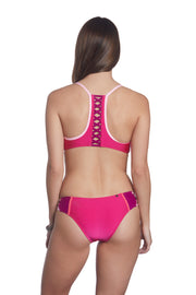 Honi Bikini Set Bashful Blush Print