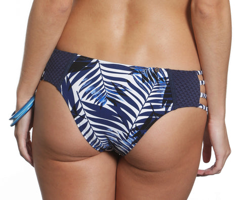 Honi Bikini Set Blue Hawaii Print
