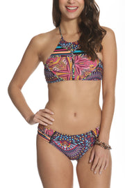 Kai Koa Bikini Set Colored Lights Print