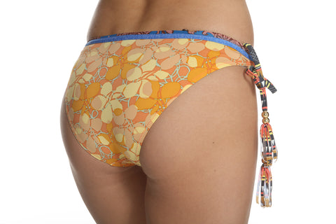 Kokua Bikini Set Orange Zeil Print