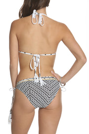 Kokua Bikini Set Stripes and Dots Print