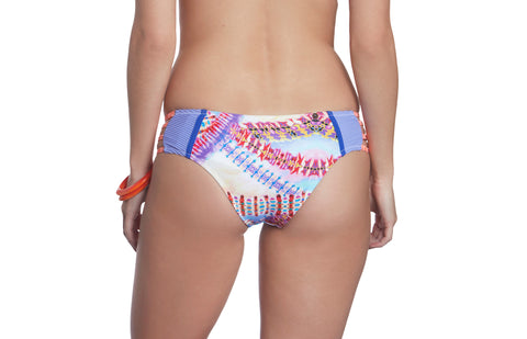 Honi Bikini Set Lavender Thorns Print