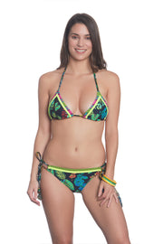 Kokua Bikini Set Midnight Jungle Print