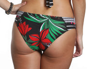 Kai Koa Bikini Set Red Palm Print