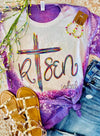Risen Easter Bleached Tee