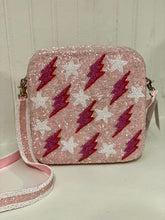 Lightning Strikes & Stars Beaded Purse