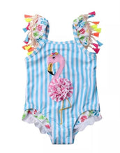 The Frilly Flamingo Swimsuit