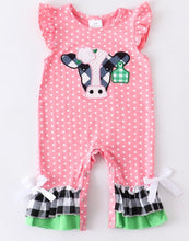 Pinky the Cow Romper
