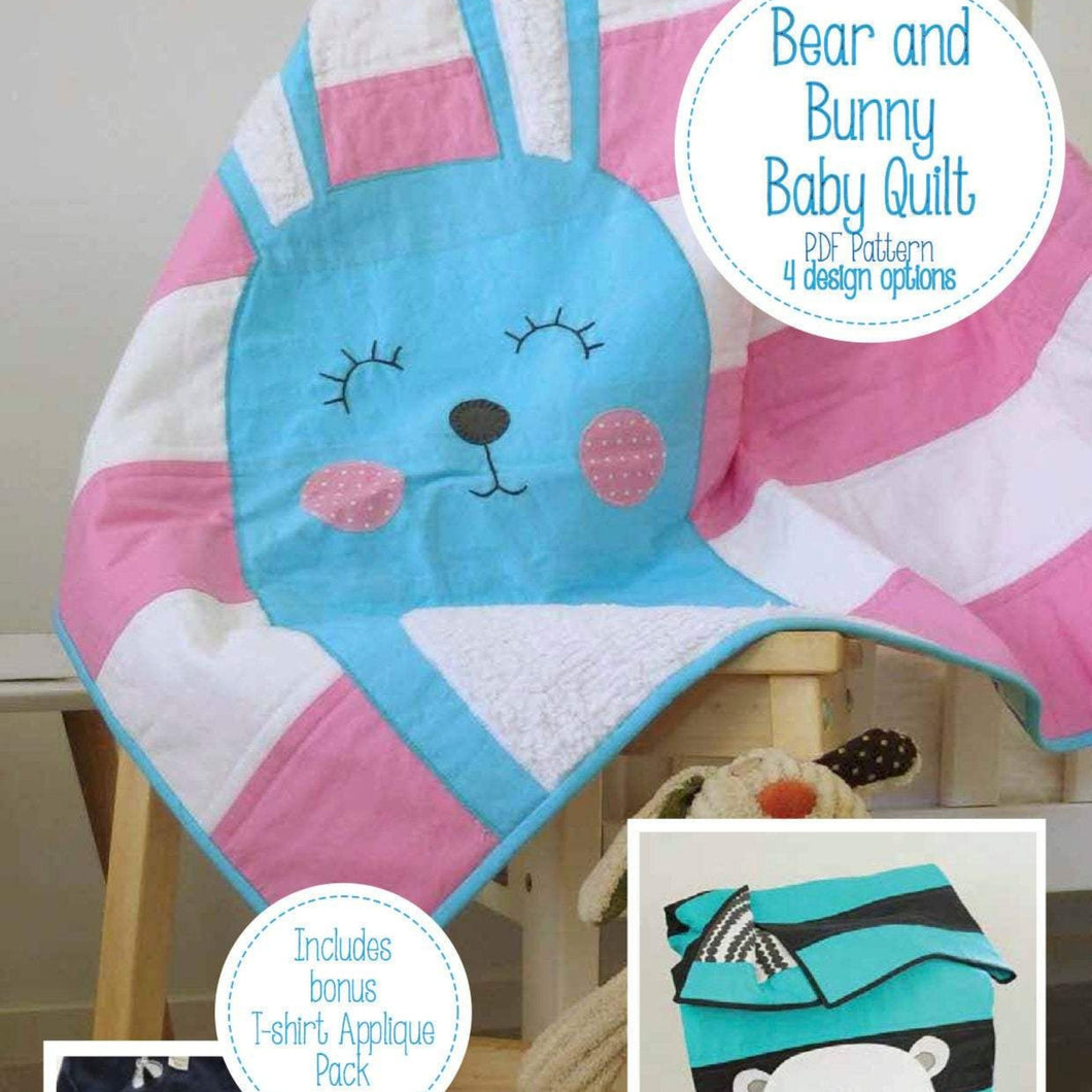 bear and bunny quit pattern pdf download