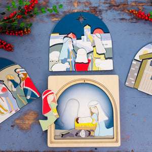 Wooden puzzles Australia nativity puzzle Christmas