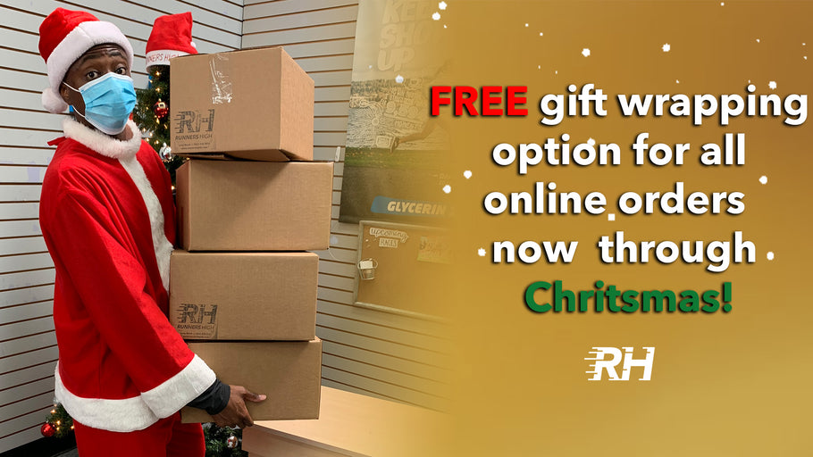 Christmas Gift Wrapping for Online Sales!