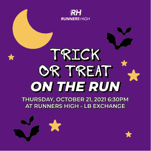 """RUNNERS HIGH T""""RICK OR TREAT ON THE RUN"""