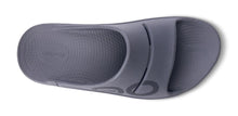 Load image into Gallery viewer, OOFOS OOAHH SPORT SLIDE SANDAL - SLATE
