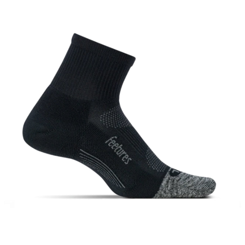 Feetures Elite Light Cushion Quarter - BLACK