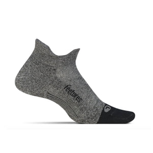 Feetures Elite Light Cushion No Show Tab - GREY