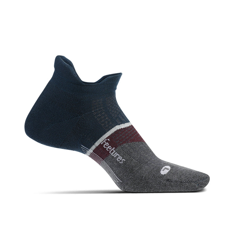 Feetures Elite Light Cushion No Show Tab - French Navy