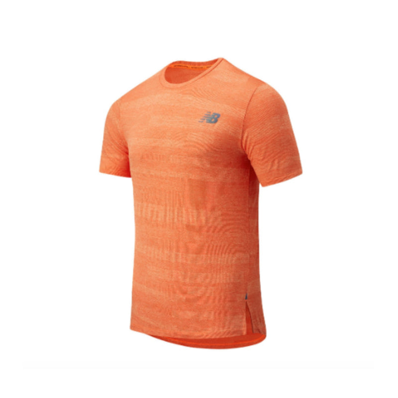 Men's New Balance Q Speed Fuel Jacquard SS - Dynamite Heather