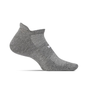 Feetures High Performance Cushion No Show Tab - GREY