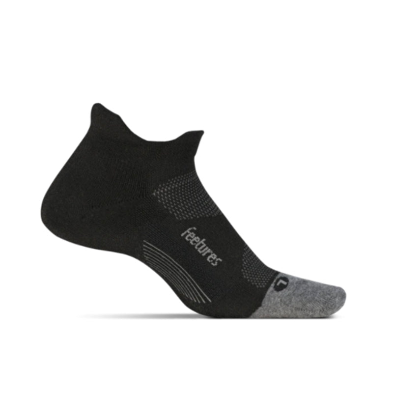 Feetures Elite Max Cushion No Show Tab - BLACK