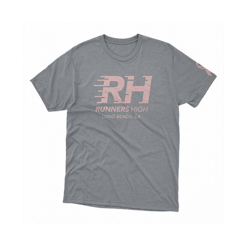 RH For A Cause- Breast Cancer Awareness Tee- Premium Heather