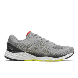 Men's New Balance 880v10- Silver Mink with Lemon Slush