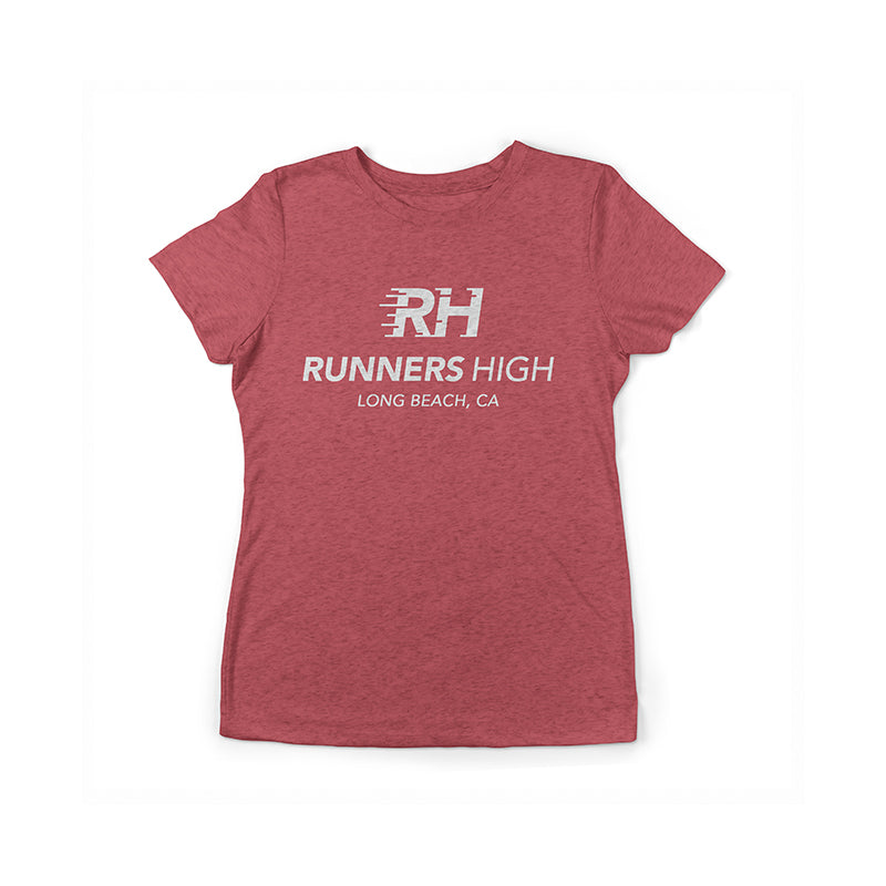 RH Signature 2.0 Women's Tee - Vintage Red